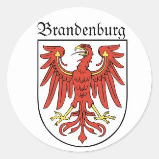 Brandenburg Classic Round Sticker