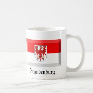 Brandenburg Flag Gem Basic White Mug