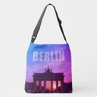 Brandenburg Gate 001.2.F, sunset, BERLIN Crossbody Bag