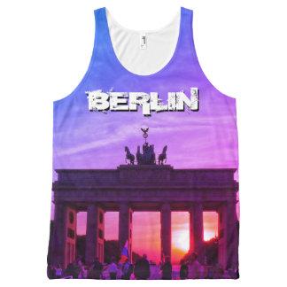 Brandenburg Gate 001.F.05, sunset, BERLIN All-Over Print Tank Top
