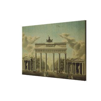 Brandenburg Gate, 1812 Canvas Print