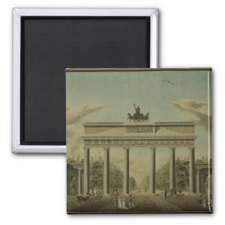 Brandenburg Gate, 1812 Square Magnet