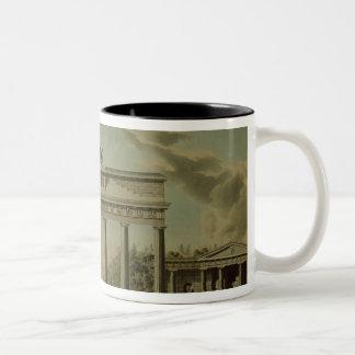 Brandenburg Gate, 1812 Two-Tone Coffee Mug