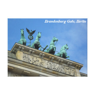Brandenburg Gate, Berlin Canvas Print