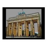 Brandenburg Gate, Berlin, Germany - Full View Postcard