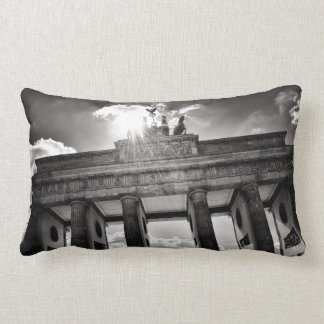 Brandenburg gate Berlin Germany Lendenkissen Lumbar Cushion
