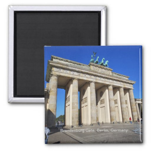 Brandenburg Gate, Berlin, Germany Refrigerator Magnets
