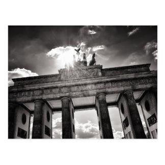 Brandenburg gate Berlin Germany Postcard