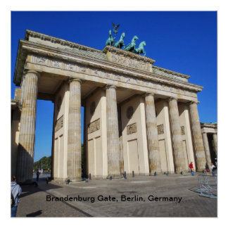 Brandenburg Gate, Berlin, Germany Poster
