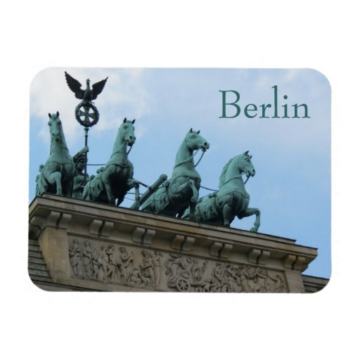 Brandenburg Gate, Berlin, Germany Rectangle Magnet