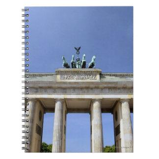 Brandenburg Gate, Berlin, Germany Spiral Notebook