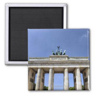 Brandenburg Gate, Berlin, Germany Square Magnet