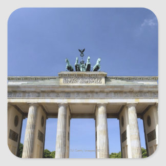 Brandenburg Gate, Berlin, Germany Square Sticker