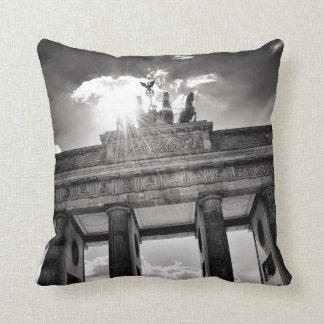 Brandenburg gate Berlin Germany Throwpillow
