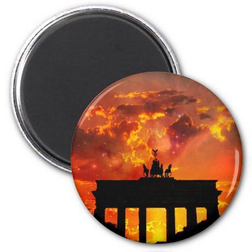 Brandenburg Gate, Berlin Fridge Magnets