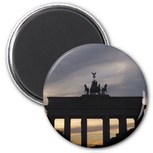 Brandenburg Gate, Berlin Refrigerator Magnets