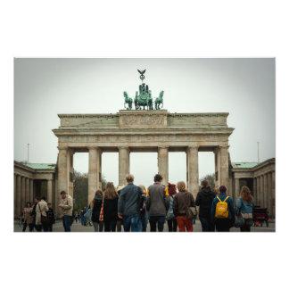 Brandenburg Gate Berlin Photo Print