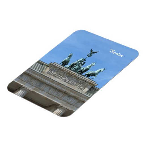 Brandenburg Gate Berlin Magnets