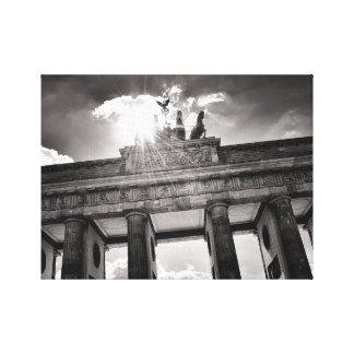 Brandenburg gate Brandenburger gate Berlin Germany Canvas Print