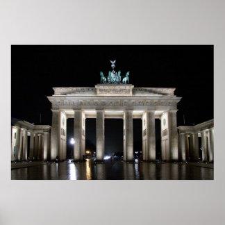 Brandenburg Gate Brandenburger Tor Poster