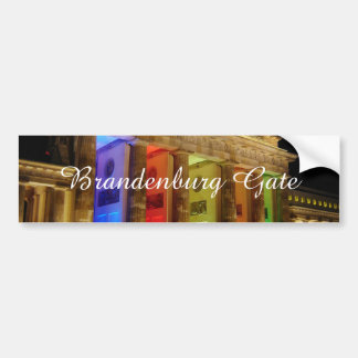 Brandenburg Gate Germany Bumper Sticker