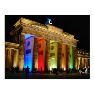 Brandenburg Gate Germany Postcard