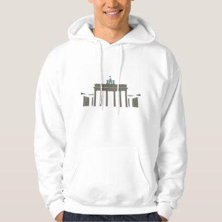 Brandenburg Gate Hooded Pullovers