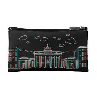 Brandenburg Gate in Berlin 3-D Cosmetic Bag