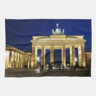 Brandenburg Gate in Berlin, Germany Towels