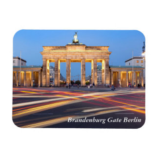 Brandenburg Gate in Berlin Rectangular Photo Magnet