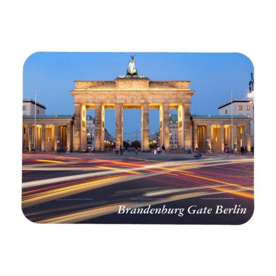 Brandenburg Gate in Berlin Rectangular Photo Magnet