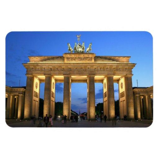 brandenburg gate rectangular magnets