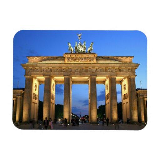 brandenburg gate flexible magnet