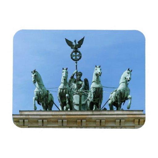 Brandenburg Gate Quadriga Berlin Flexible Magnet