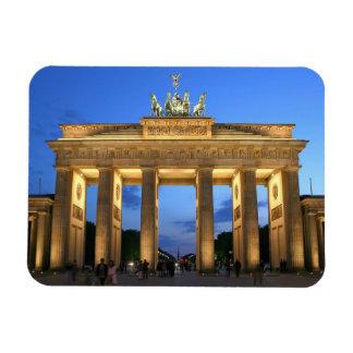 brandenburg gate rectangular photo magnet