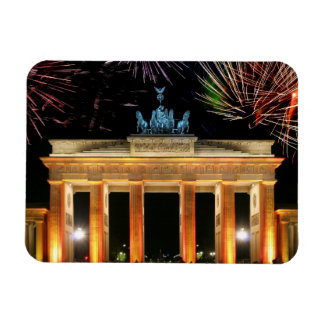 Brandenburg Gate Rectangular Photo Magnet