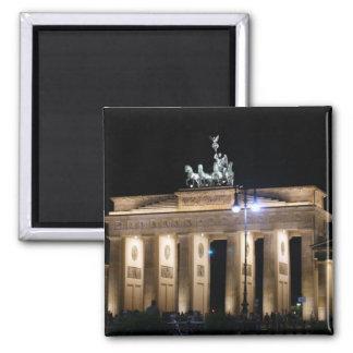 brandenburg gate square magnet