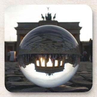 Brandenburg Gate sunset, Berlin Drink Coasters