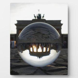Brandenburg Gate sunset, Berlin Plaque