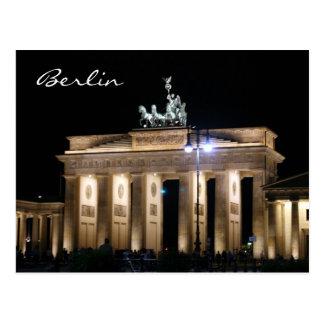 brandenburg night postcard