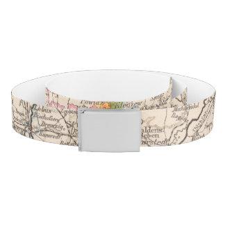 Brandenburg, Posen Atlas Map Belt
