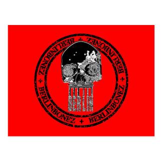 Brandenburg Skull Postcard