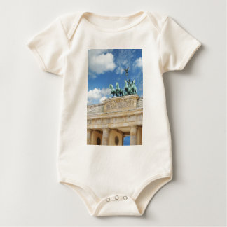 Brandenburg Tor in Berlin, Germany Baby Bodysuit