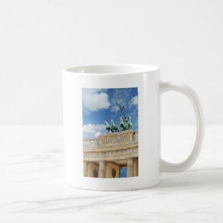 Brandenburg Tor in Berlin, Germany Basic White Mug