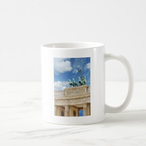 Brandenburg Tor in Berlin, Germany Coffee Mug