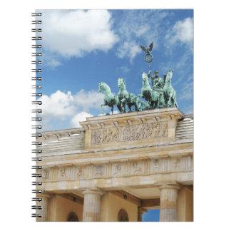 Brandenburg Tor in Berlin, Germany Notebooks