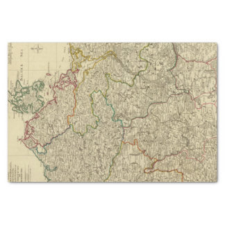 Brandenburg, W Pomerania Tissue Paper