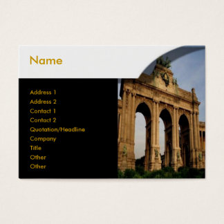 Brandenburger Gate Profile Card