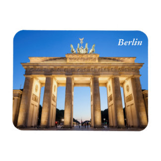 Brandenburger Tor Berlin Rectangular Photo Magnet