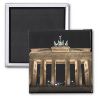 Brandenburger Tor, Berlin Square Magnet